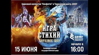 """Цирковое шоу """"Игра Стихий"""" /15 06 2019/"""