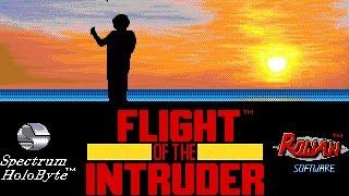 [PC DOS] Flight of the Intruder - F-4 Phantom Gameplay