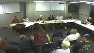 July 14th, 2015 Dickinson Count Kansas Planning Commission Meeting