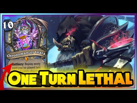 ONE TURN LETHAL! WITCHWOOD WTF Moments - Hearthstone Daily Funny Rng Moments