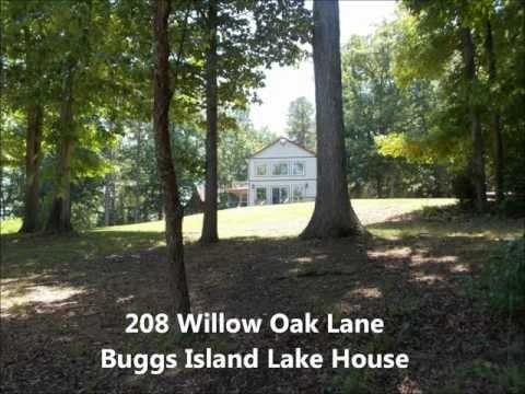 Waterfront Lake House For Sale on Kerr Lake / Buggs Island in   Clarksville, VA