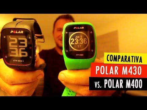 POLAR M430 vs POLAR M400: las 6 diferencias