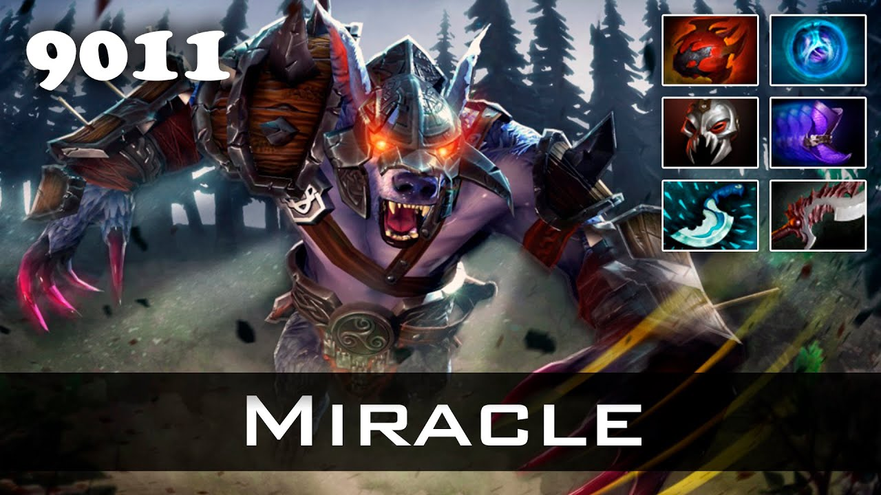 Miracle Ursa  Mmr Ranked Dota