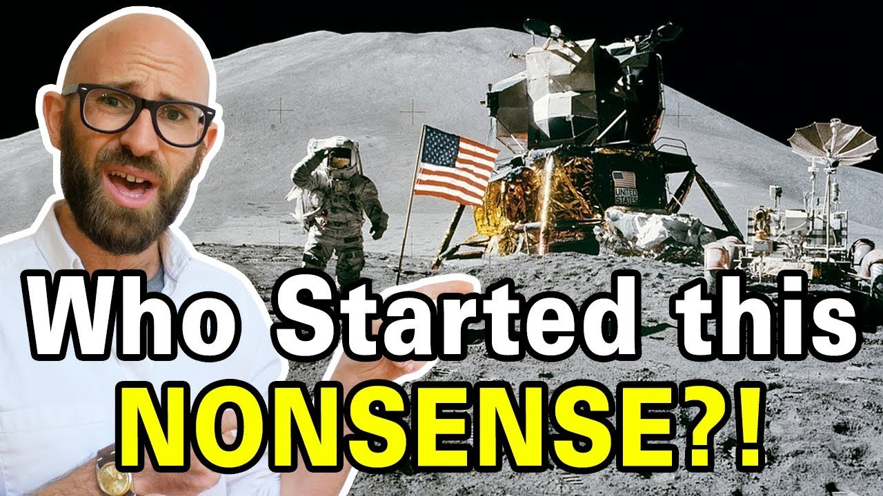 Who Started the Moon Landing Hoax Conspiracy Theory? - YouTube