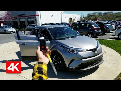 2018 TOYOTA CHR XLE PREMIUM - IN DEPTH WALKAROUND STARTUP INTERIOR EXTERIOR EXHAUST TRUNK & TECH