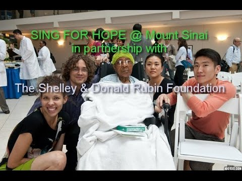 SING FOR HOPE's Healing Arts at Mount Sinai (made possible by The Shelley & Donald Rubin Foundation)