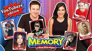 Memory Challenge YouTubers edition ft. Konstantina #Internet4u