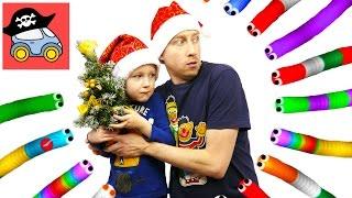 🐍 СЛИЗАРИО CHRISTMAS SLITHER — как Илья и Жестянка в новогодние игры играли. Жестянка