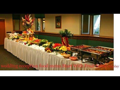 Best Wedding Reception Menu Itemsbest Professional Catering