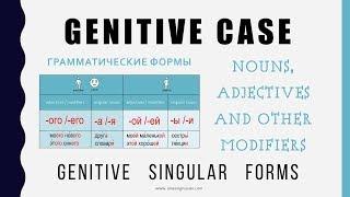 Beginning Russian: Genitive Case-2: Genitive Singular Forms