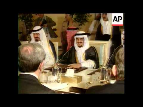 Iraq Sanctions Stay, Agrees King Fahd