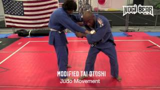 Modified Tai Otoshi with Sensei David Osaghae of Judo Movement – Nogi Bear䋢 AGL PGL