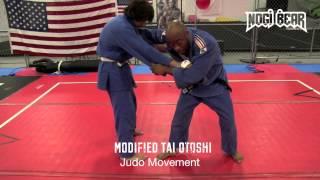 Modified Tai Otoshi with Sensei David Osaghae of Judo Movement – Nogi Bear䋢 AGL PGL