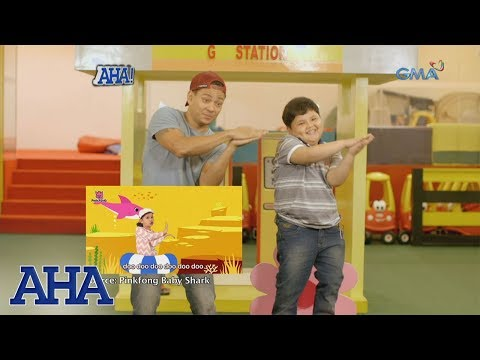 AHA!: Baby Shark dance with Drew Arellano and Pao Pao