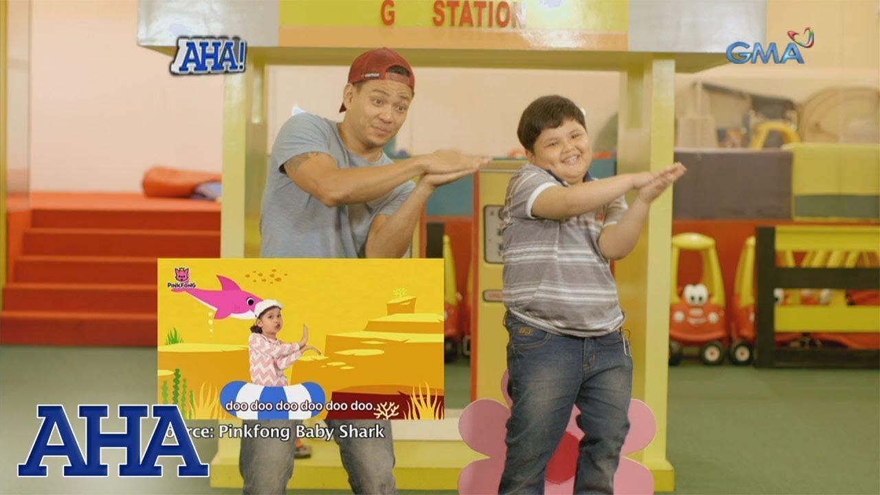 AHA!: Baby Shark dance with Drew Arellano and Pao Pao ...