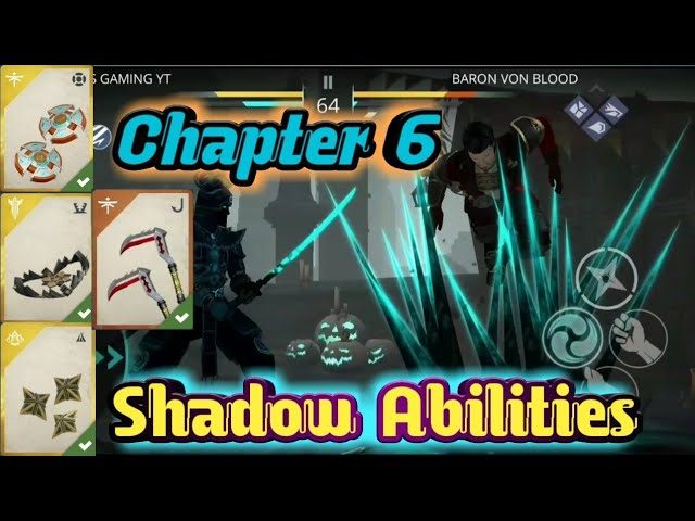 SHADOW FIGHT 3 • Chapter 6 All New Shadow Abilities !!