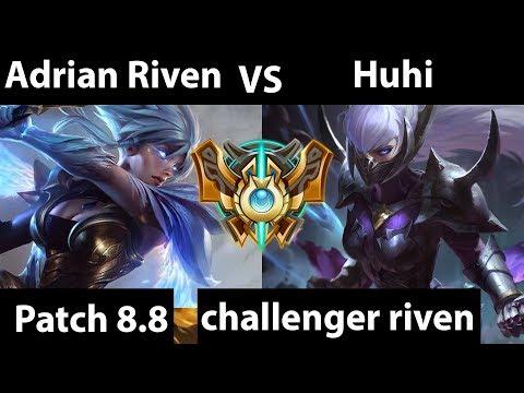 [ Adrian Riven ] Riven vs Best Irelia [ Huhi ] Top - Adrian Riven Challenger soloq time