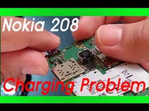 Nokia 208 USB port not charging