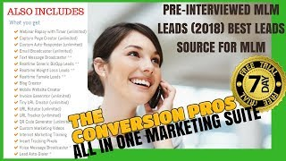 Pre-Interviewed MLM Leads (2018) Best Leads Source for MLM