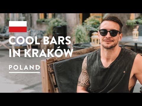 BEST KRAKOW BARS, CAFE & CLUBS | Dolne Mlyny | Poland Travel Vlog 2018