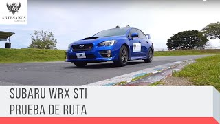 Subaru WRX STI / Prueba de ruta / Artesanos Car Club / YouTube Videos