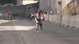 Les techniques de freinage en roller en descente