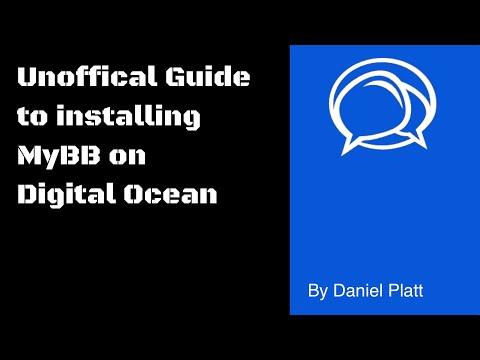 Setup Up MyBB On A Digital Ocean VPS Using  Mysql, Nginx And PHP