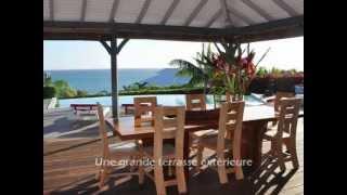 Vidéo : Location d'une villa de luxe en Guadeloupe - Sainte Anne