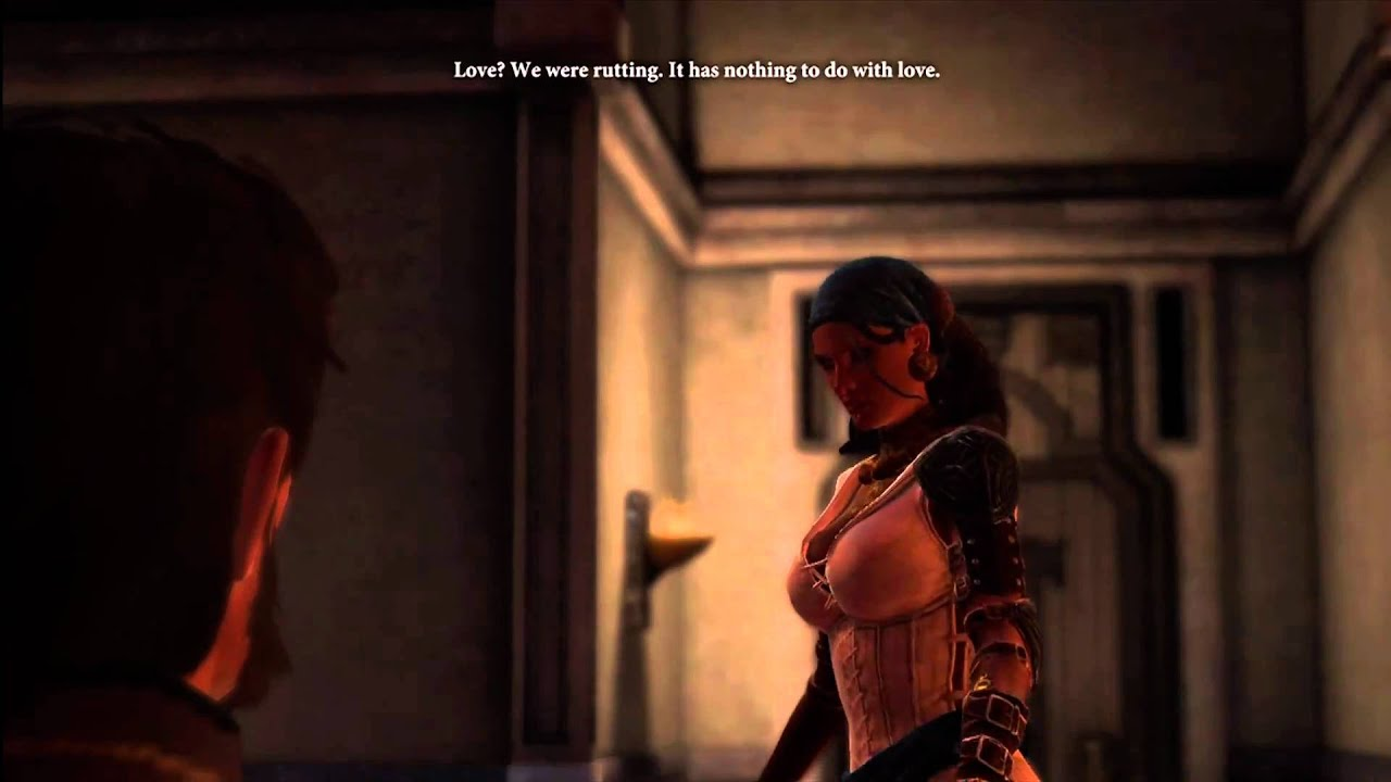 How do you flirt in dragon age 2