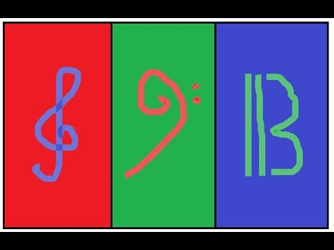 How to read the Three Music Clefs!!