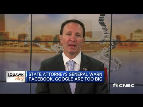 Louisiana Attorney General Jeff Landry on breaking up big tech