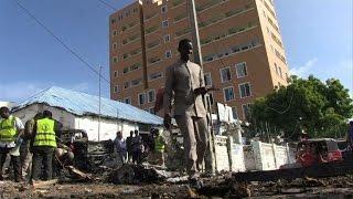 Five killed in car bomb at Mogadishu police station