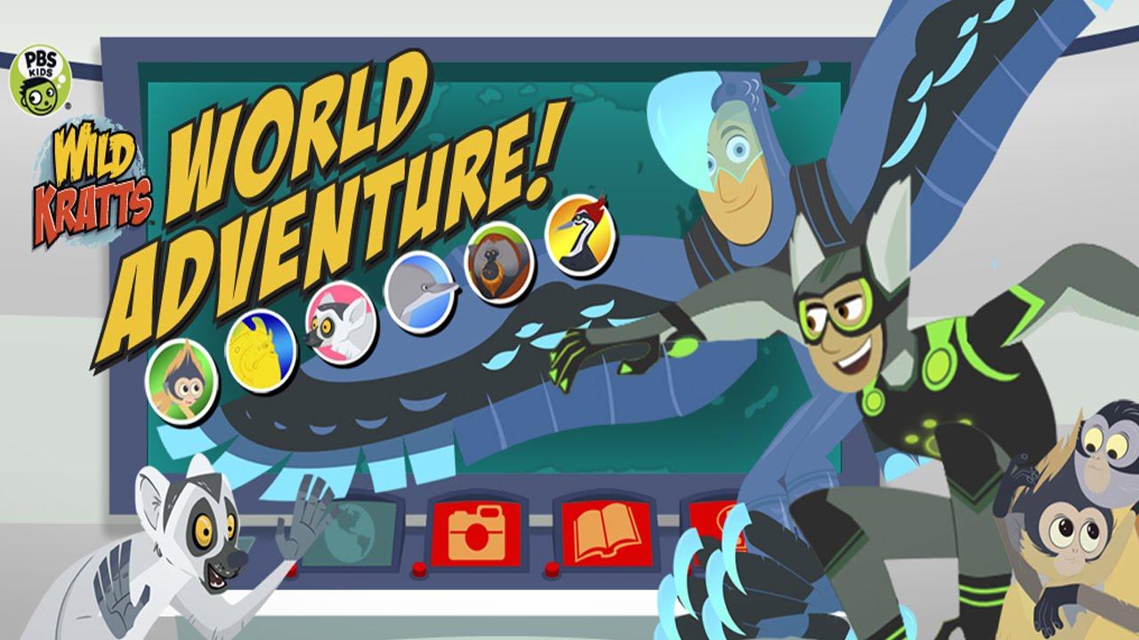 Wild Kratts World Adventure (PBS KIDS) - Best App For Kids