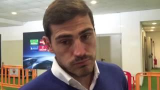 """Casillas ammette: """"Dopo l'espulsione di De Rossi è cambiata la partita"""""""