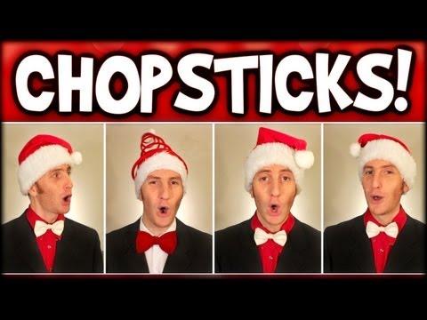 Christmas Chopsticks (A Cappella Barbershop Quartet) - Julien Neel