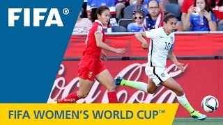 HIGHLIGHTS: China PR v. USA - FIFA Women's World Cup 2015