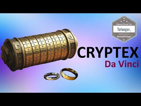 The Da Vinci Cryptex - Unboxing and discovery