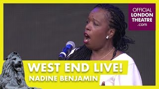 West End LIVE 2018: Nadine Benjamin