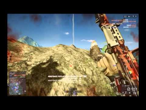 Battlefield 4 (Rush)  M224 Mortar Strike, L86A2 Rogue Transmission Gameplay |#2|  [HD] [PC]