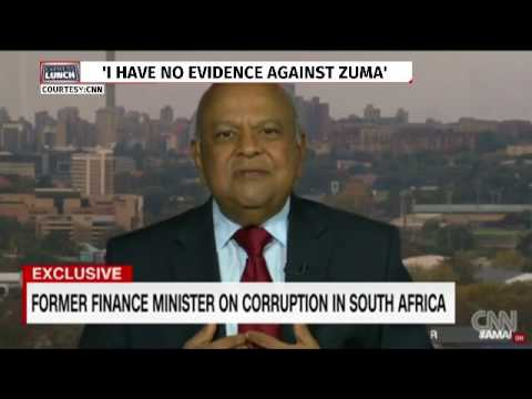 Gordhan speaks out on Zuma. ANC