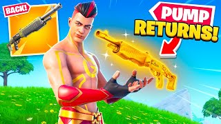 Pump *RETURNS* to Fortnite! (NEW UPDATE, SKINS + MORE)