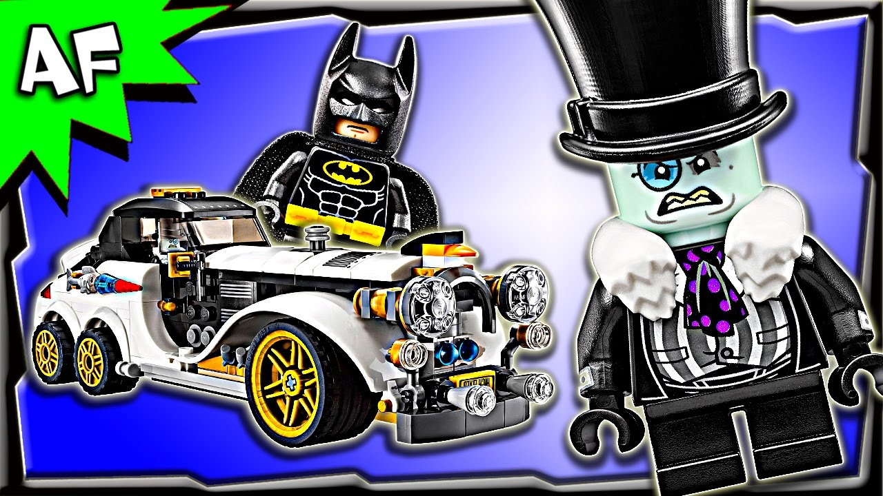 Lego Batman Movie Mr Penguin Arctic Roller 70911 Speed Build Youtube