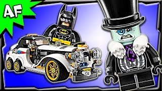 Lego Batman Movie Mr. PENGUIN Arctic Roller 70911 Speed Build