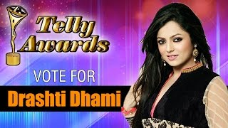 Vote Drashti Dhami For Madhubala | Best Actress Female | Indian Telly Awards 2014