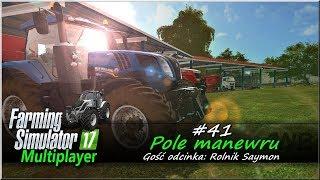 """Farming Simulator 17 - #41 """"Pole manewru"""""""