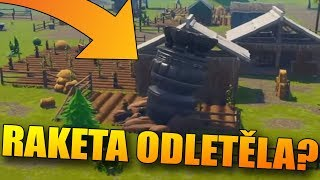 A NEW THEORY! ROCKET CRASHES into ANARCHY ACRES! 😱Fortnite Battle Royale CZ/SK