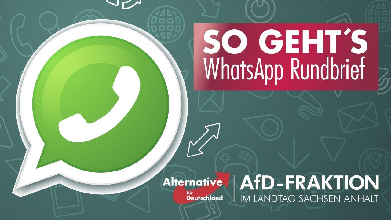 Whatsapp Anhalten