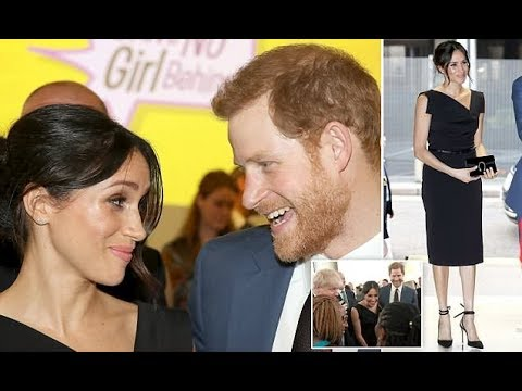 Meghan Markle and Prince Harry attended a CHOGM Women's Empowerment reception in London