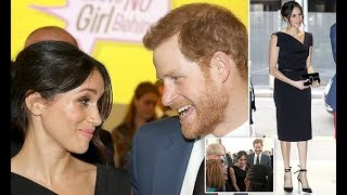 Meghan Markle and Prince Harry attended a CHOGM Womens Empowerment reception in London