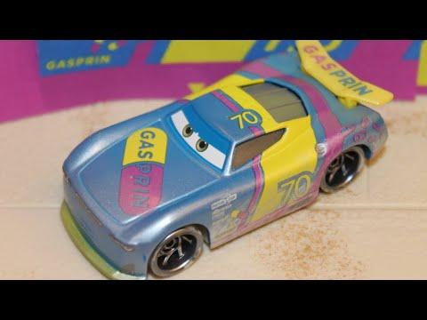 Disney Pixar Cars Richie Gunzit Gasprin # 70 Next Gen Piston Cup Racer 2019